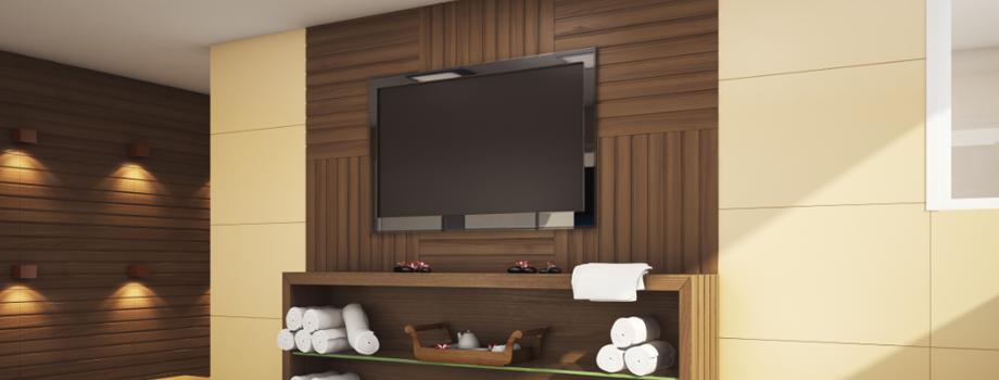 Blog Sala De Tv Terra ~ painel de tv a moldura protagonista da sala as salas dos lares